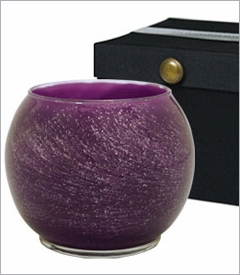 "5"" Galaxy Polished Globe Candles"