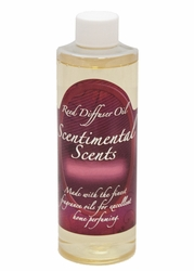 8 oz. Fireside Reed Diffuser Oil by Scentimental Scents | Scentimental Scents Reed Diffuser Oil