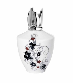 CLOSEOUT - Amphore Blanche Fragrance Lamp by Lampe Berger - Limited Edition-
