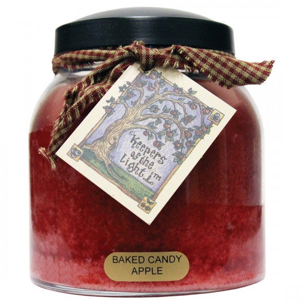 Baked Candy Apple 34 Oz Papa Jar Keepers Of The Light
