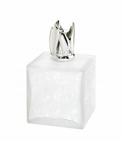 Beaux Art Cube White Fragrance Lamp by Lampe Berger