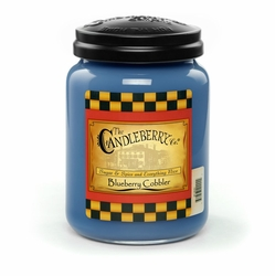 Blueberry Cobbler 26 oz. Large Jar Candleberry Candle | New Releases by Candleberry