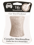 CLOSEOUT - Campfire Marshmallow WoodWick Car Vent Freshener | Discontinued & Seasonal WoodWick Items!