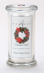 Christmas Stroll Large Apothecary Jar Kringle Candle | Large Apothecary Jar Kringle Candles