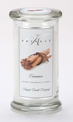 Cinnamon Large Apothecary Jar Kringle Candle | Large Apothecary Jar Kringle Candles