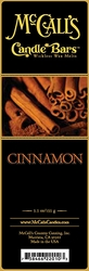 Cinnamon McCall's Candle Bar | Candle Bars by McCall's