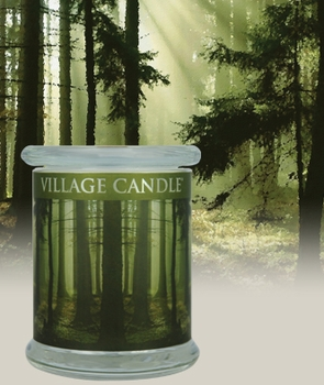DISCONTINUED 13oz Siberian Pine Radiance Wooden Wick Village Candle
