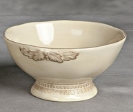 6 in. Grazia Soup Bowl-Set of 4-Sandalwood - GG Collection