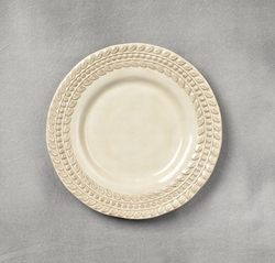 8 in. Grazia Salad Plate-Set of 4-Sandalwood - GG Collection