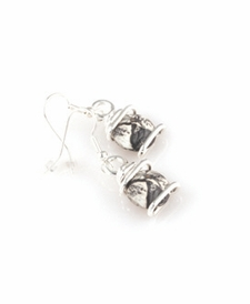 CLOSEOUT - Forever Yours Silver Swirl Earring