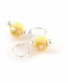 CLOSEOUT - Jumble Classic Silver Ball Earring