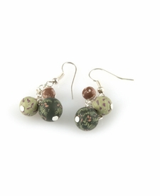 CLOSEOUT - New Harvest 3 Bead Cluster Earring