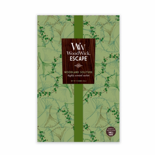 Woodland Solitude Woodwick Escape Sachet
