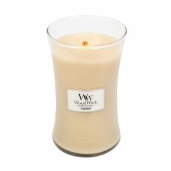 Coconut WoodWick Candle 22 oz. | New Spring & Summer WoodWick Items