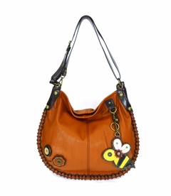 COMING SOON! - Bee Charming Hobo Crossbody with Coin Purse - Orange