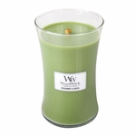 COMING SOON! - Bergamot & Basil WoodWick Candle 22 oz. | New Fall & Winter 2015 Releases