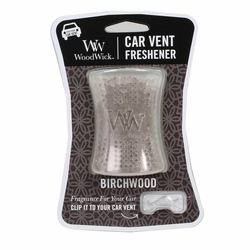 Birchwood WoodWick Car Vent Freshener | Car Vent Fresheners - Woodwick Fall & Winter 2015