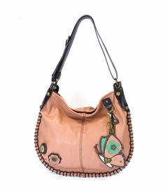 COMING SOON! - Butterfly Charming Hobo Crossbody with Coin Purse - Pink