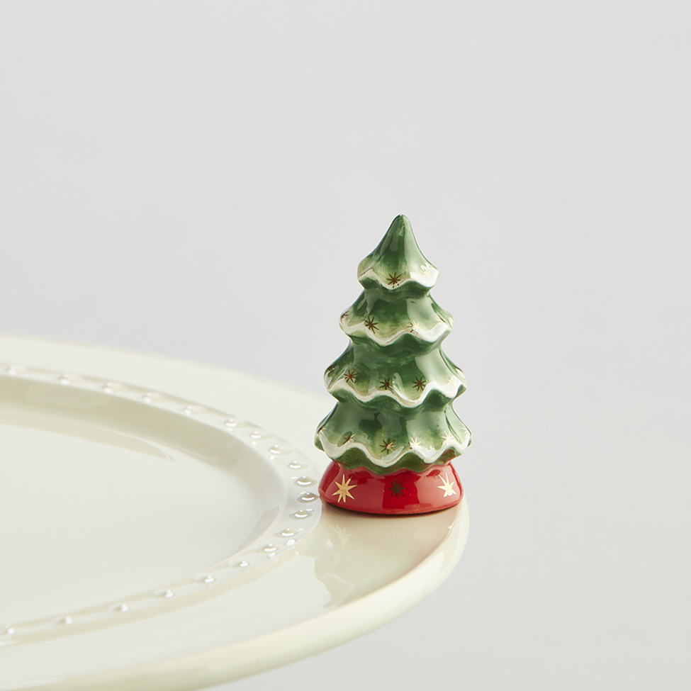 Spode Christmas Tree Linens