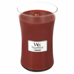 NEW! - *Cinnabark WoodWick Candle 22oz. | Woodwick Candles 22 oz.