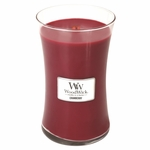 NEW! - *Cranberry WoodWick Candle 22oz. | Woodwick Candles 22 oz.
