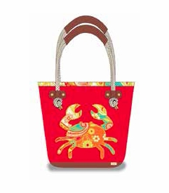 TEMPORARILY OUT OF STOCK - NEW! - Fiddler's Cove Beach Bag (Backordered Early May)