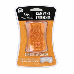 Ginger Macaron WoodWick Car Vent Freshener | Car Vent Fresheners - Woodwick Fall & Winter 2015