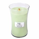 COMING SOON! - Green Tea & Lime WoodWick Candle 22 oz. | New Fall & Winter 2015 Releases