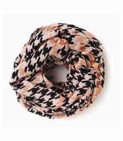 COMING SOON! - Multi Color Houndstooth Viscose Scarf by Spartina 449