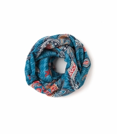 NEW! - Paisley Houndstooth Heritage Scarf by Spartina 449