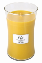 Pear Cider WoodWick Candle 22 oz. | Jar Candles - Woodwick Fall & Winter 2015