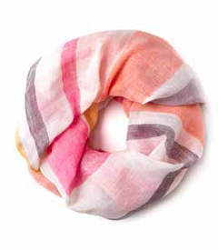 Pink Catalina Scarf - Spartina 449 (Special Order)