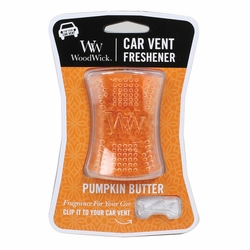 Pumpkin Butter WoodWick Car Vent Freshener | Car Vent Fresheners - Woodwick Fall & Winter 2015