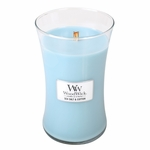 COMING SOON! - Sea Salt & Cotton WoodWick Candle 22 oz. | New Fall & Winter 2015 Releases