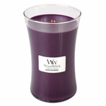 COMING SOON! - Spiced Blackberry WoodWick Candle 22 oz. | New Fall & Winter 2015 Releases