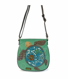 COMING SOON! - Turtle Crossbody Bag - Teal