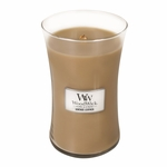 NEW! - *Vintage Leather WoodWick Candle 22oz. | Woodwick Candles 22 oz.