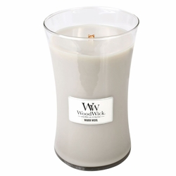 Warm Wool WoodWick Candle 22 oz. | Woodwick Candles 22 oz.