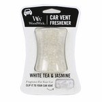 NEW! - White Tea & Jasmine WoodWick Car Vent Freshener | Car Vent Fresheners - Woodwick Fall & Winter 2015