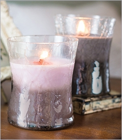 COMING SOON! - WoodWick Bedroom Hourglass Candles