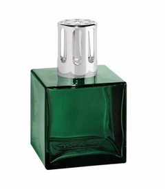 Cube Green Fragrance Lamp by Lampe Berger