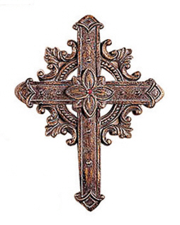 "DISCONTINUED 13"" Bronze Guild Cross C"