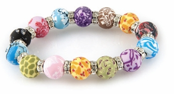 DISCONTINUED Festival Chunky Crystal Bracelet