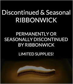 Discontinued & Seasonal RibbonWick Candles