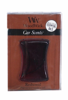 DISCONTINUED WoodWick Car Scents Redwood