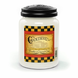 Distiller's Charred Oak 26 oz. Large Jar Candleberry Candle | New Releases by Candleberry
