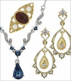 DOWNTON ABBEY COLLECTION BY 1928 JEWELRY