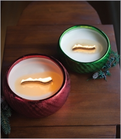 Fall & Holiday Collection RibbonWick Candles