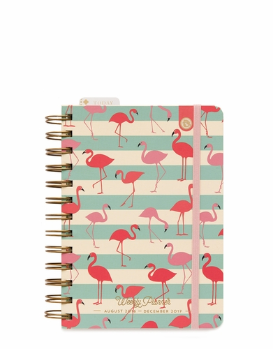 Flamingo 2016-2017 Mini Weekly Planner - Oh So Witty Spartina 449