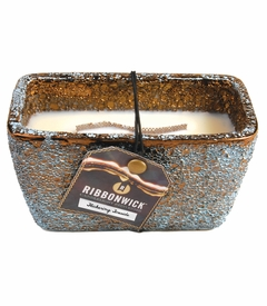 Flickering Fireside - Rectangle RibbonWick Candle